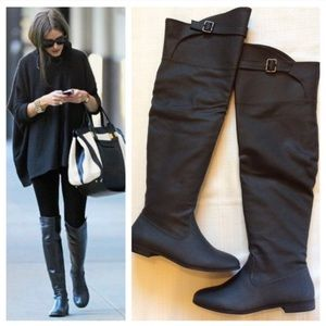 Michael Antonio Olexa over the knee boot
